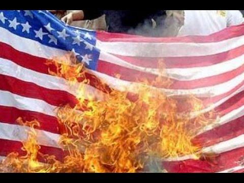 How to Burn an American Flag