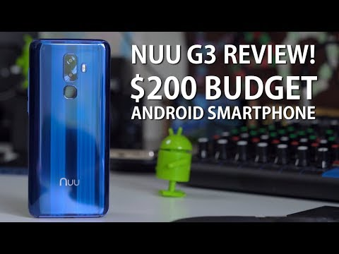 Nuu G3 Review - $200 Budget Android Smartphone!