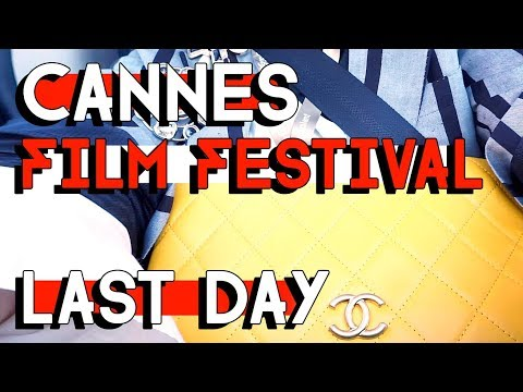 CANNES FILM FESTIVAL - THE LAST DAY