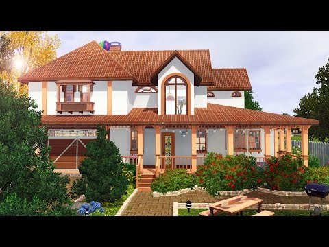 Sims 3 Speed Building: Renovated Romanian House