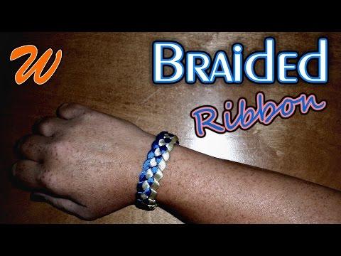 DIY Ribbon Bracelet (Braided)   How To