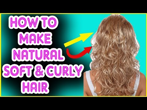 How to Make Curly Hair, Soft and Manageable - Get Soft Curly Hair - Get Soft Hair Curls