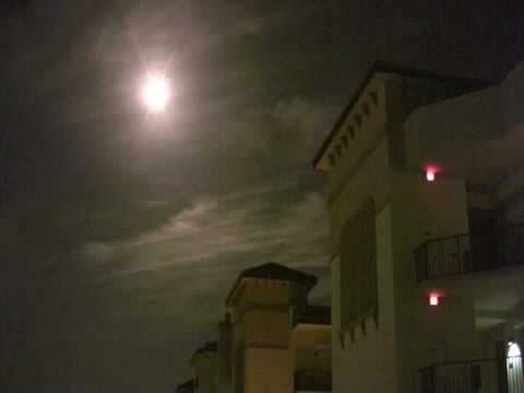 Space Shuttle Night Launch from Meridian Condo Cocoa Beach