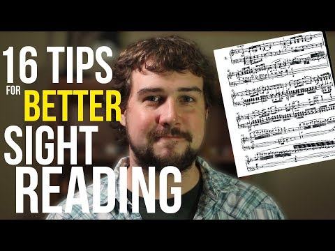 16 Tips For Better Sight Reading - TWO MINUTE MUSIC THEORY #11