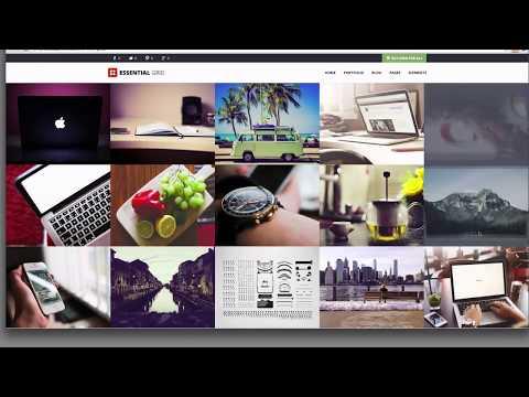 Essential Grid WordPress Plugin - FullScreen - FullWidth - Boxed