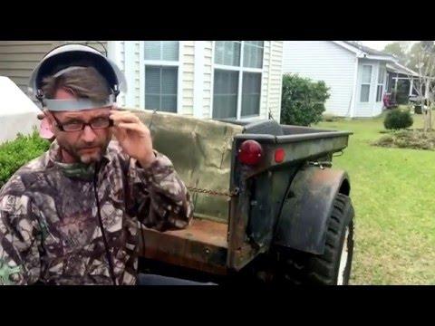 Haines Garage Starting On The Bantam Trailer