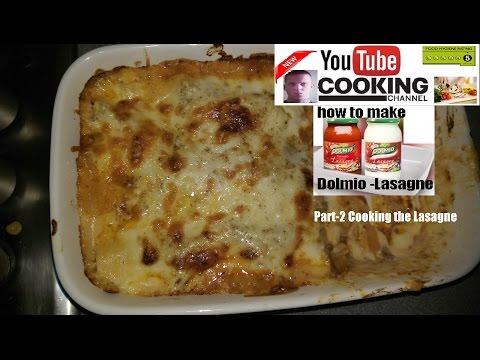 Dolmio Lasagne (Part2) Cooking