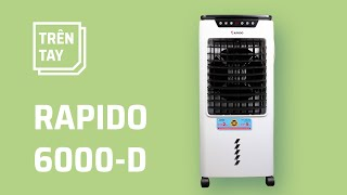 Rapido 6000-D: quạt điều hoà có lọc không khí