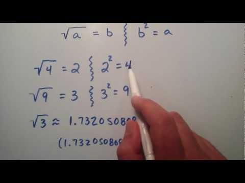 Square Roots , Intermediate Algebra , Lesson 10