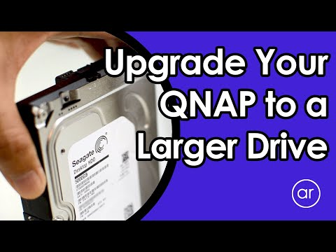 How to Upgrade / Expand Your QNAP RAID to Larger Drives