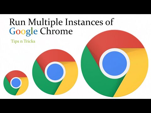 How to Run Multiple Instances of Google Chrome To Multi Login With Different Accounts
