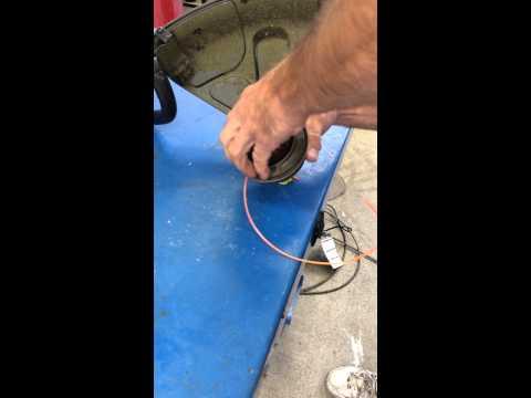 Ryobi Full Crank Head Line Feeding Instruction