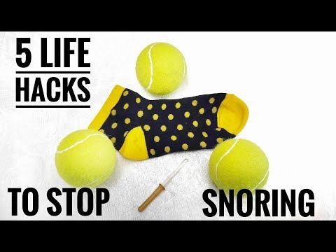 5 Life Hacks How To Get Rid Of Snoring - How To Stop Snoring By Easy Exercises And Home Remedies