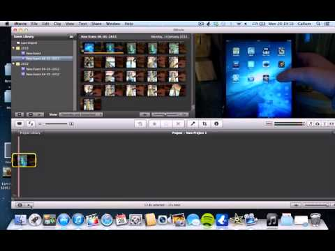 How To get slow motion effect on iMovie 11