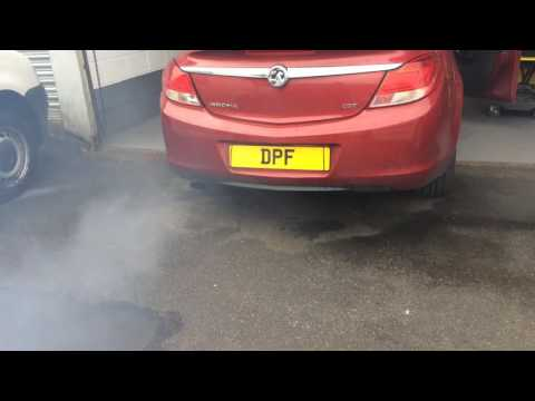 2010 Vauxhall Insignia EGR valve fault fixed and DPF regenerated at www.doncasterdpfcleaning.co.uk