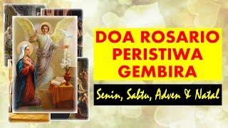 Doa Rosario Peristiwa Gembira Senin Sabtu Adven Natal