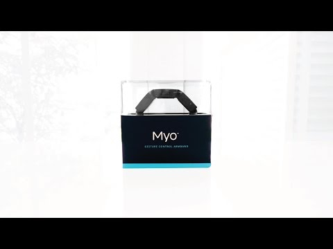Myo Gesture Control Armband Unboxing & Review!