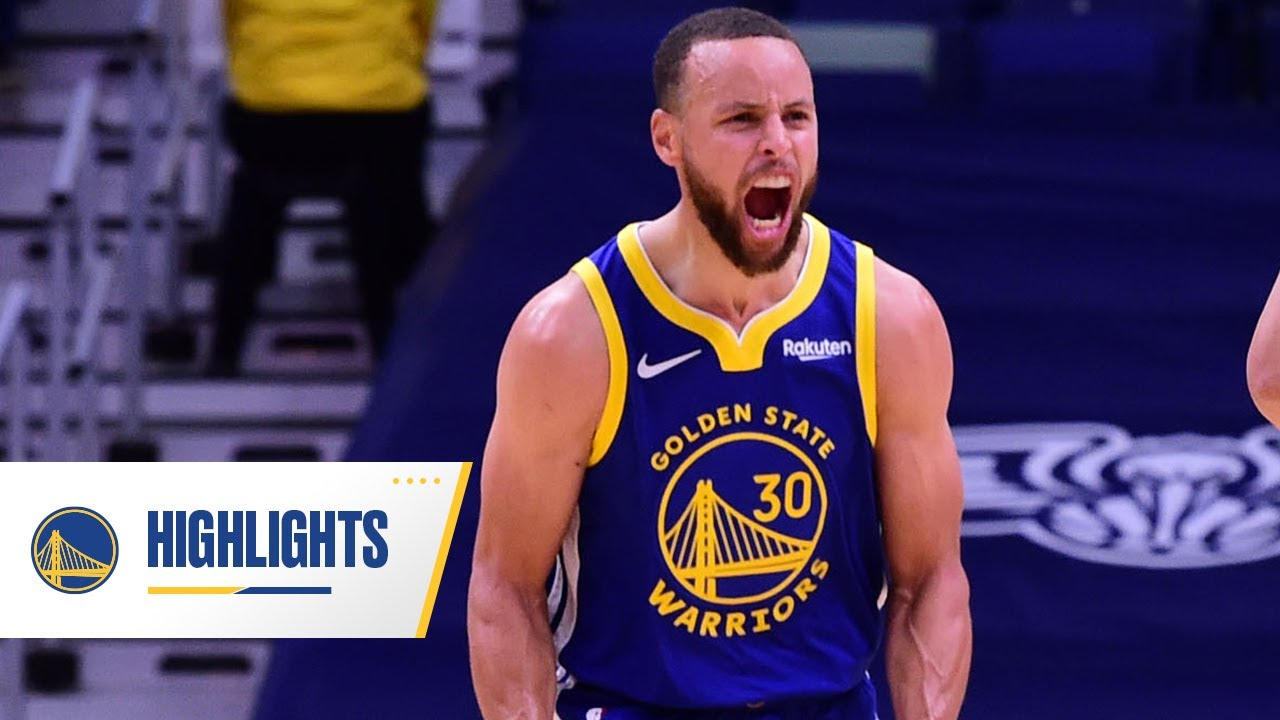 """Stephen Curry Drops 41 Points in """"The Big Easy"""" 