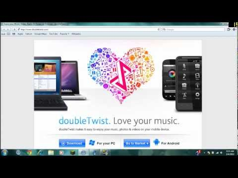 How to Sync an Android Phone with itunes
