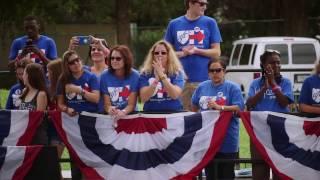 Hillary Clinton Inspires Florida Teachers