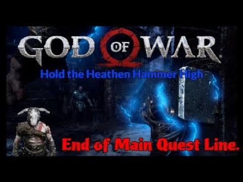 GOD of WAR End of Main Quest Line