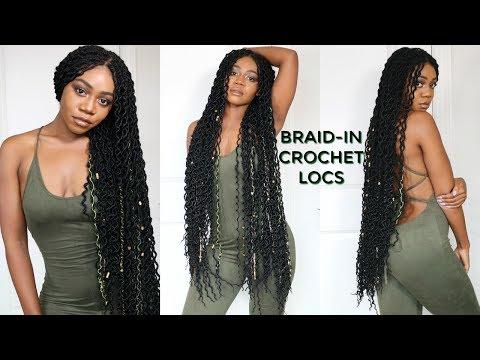 4 hr Braid-in Locs Tutorial | Super Long Doubled Crochet Locs | NEW! Faux Locs Method | Jazz Nicole