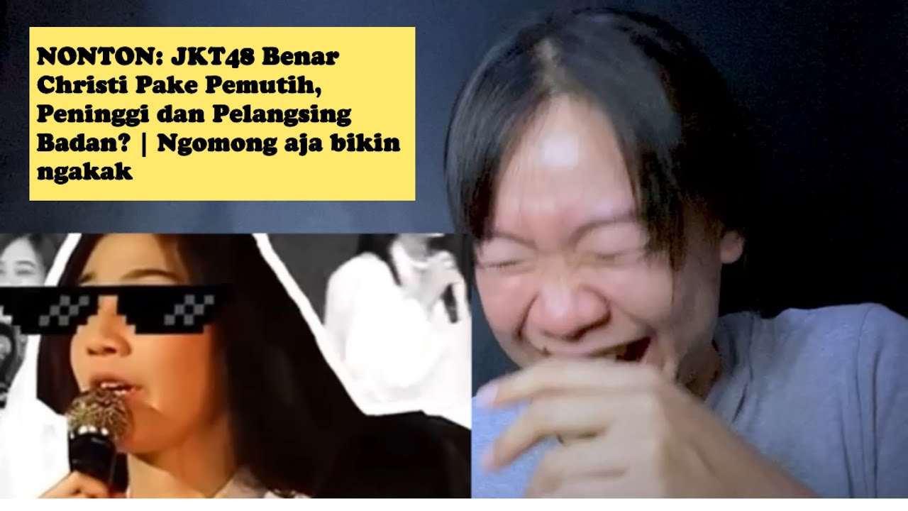 Download NONTON: JKT48 Benar Christi Pake Pemutih, Peninggi dan Pelangsing Badan? | Ngomong aja bikin ngakak MP3 Gratis