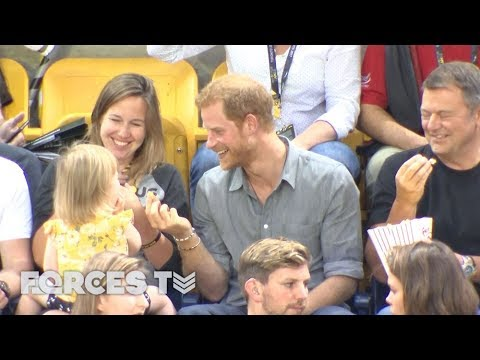 The TRUE Story About The Girl Who Stole Prince Harry's Popcorn | Forces TV