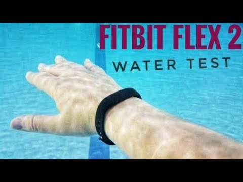 FitBit Flex 2 Water Test Survive or Not !!✌️