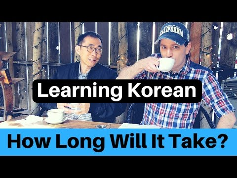 How Long Does It Take to Learn Korean? – A Glass with Billy Ep. 5