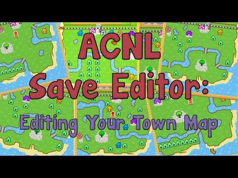 AC:NL Save Editor: How to Edit Your Town Map