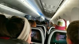 JAL7018 B787-900 HND, Tokyo to SEA, WA Encounters Severe Turbulence at 24,000ft!!