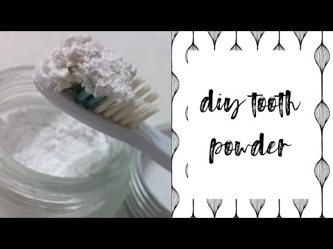 DIY Tooth Powder (no baking soda!)