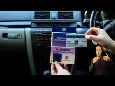 The Australian Disability Parking Scheme
