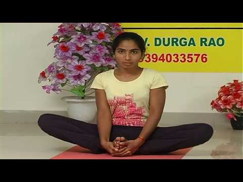 Watch simple yoga in Telugu to loose fat