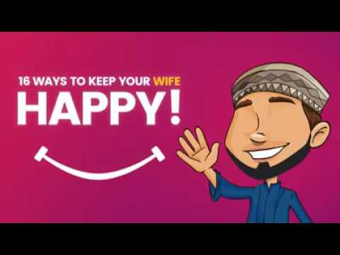 16 ways to keep your wife happy :)