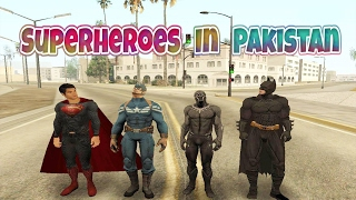 Superheroes In Pakistan | SUPERMAN