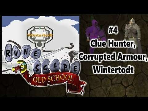 OSRS Level 3 Skiller Diary #4 - Clue Hunter Outfit, Corrupted Armour, Wintertodt.