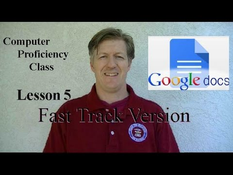 Google Docs Lesson 5 Word Art How to Insert Images - Fast Track version  Parent Academy KCUSD