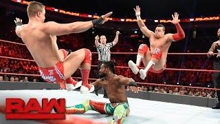 New Day, Cesaro & Sheamus vs.  Gallows, Anderson & Shining Stars: Raw, Dec. 19, 2016