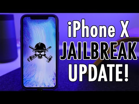 iPhone X Jailbreak Update!