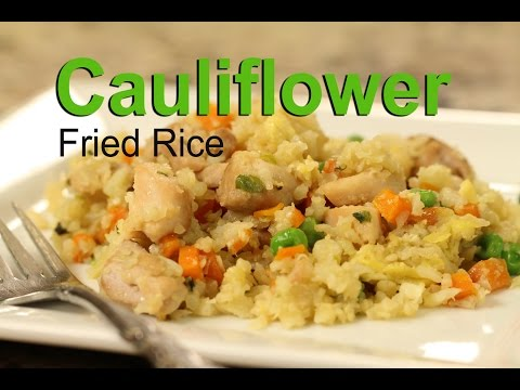 How To Make Cauliflower Fried Rice | Rockin Robin Cooks