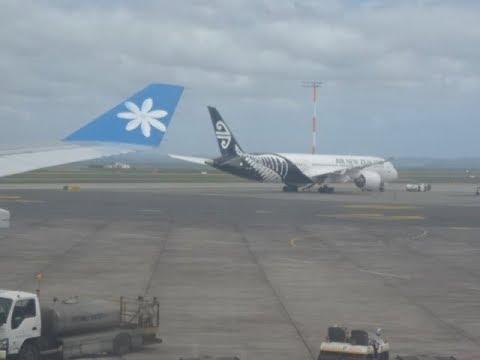 Air Tahiti Nui Airbus A340 Flight - Tahiti to Auckland, New Zealand