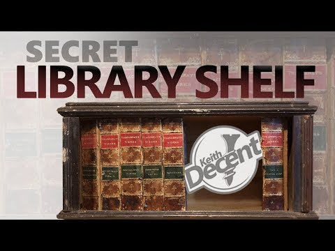 SECRET LIBRARY SHELF - a Decent project