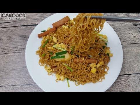 Stir Fry Ramen Noodles (简单 有弹性  炒方便面)