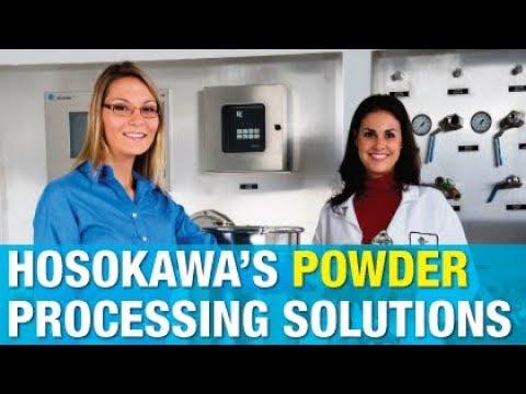 Hosokawa's Wide Range of Equipment & Services