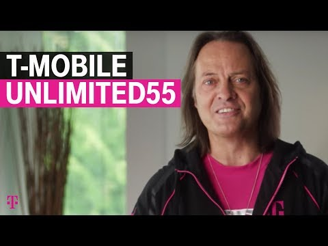 Get ready for #Unlimited55! Anyone 55+ can grab 2 lines of T-Mobile ONE for $60!