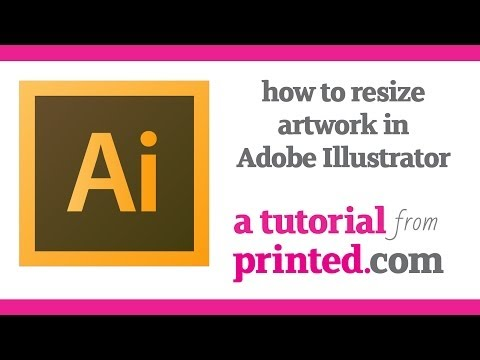 Adobe Illustrator Tutorial: How To Resize Artwork For Print