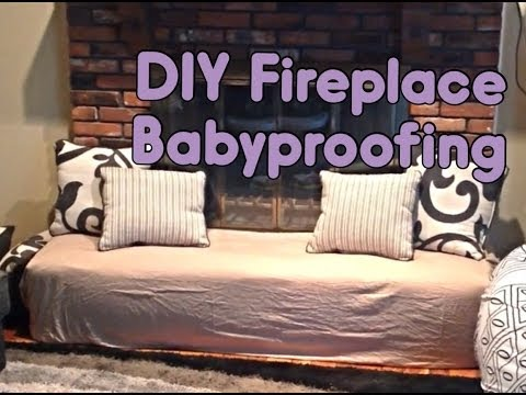 DIY | Fireplace Babyproofing