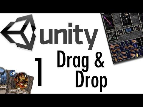 Unity Tutorial - Drag & Drop Tutorial #1 [RPGs, Card Games, uGUI]